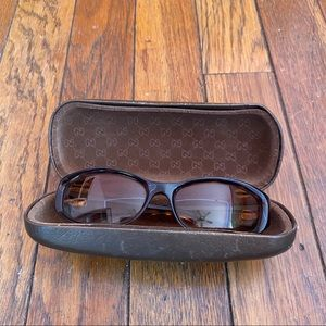 Gucci tortoise sunglasses